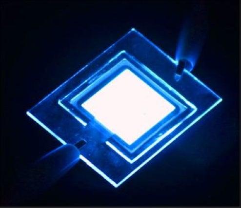 OLED Room Lights Nearer as BASF, Osram Break Brightness Record