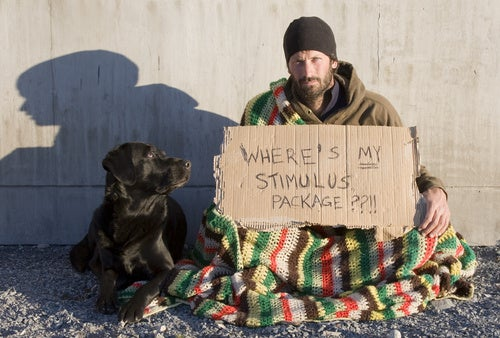 Lend Panhandlers Your Credit Cards and Here's What Happens
