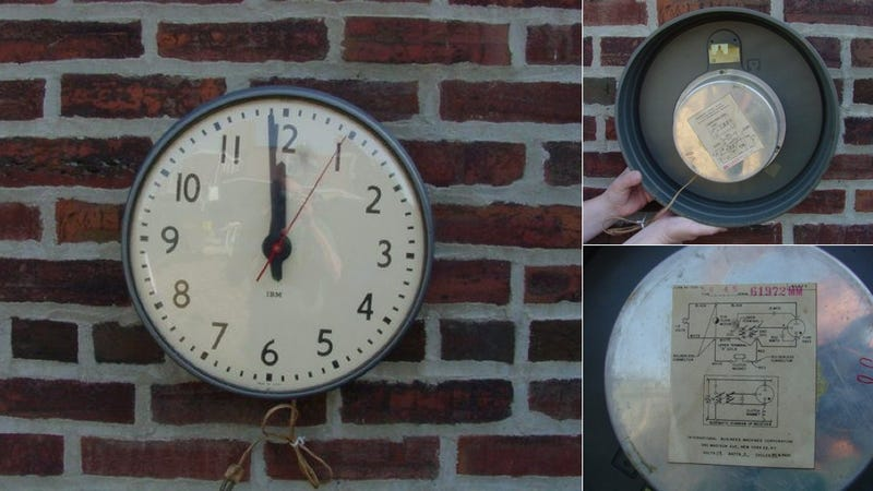 That Damn Classroom Clock You Always Despised as a Kid? It's Actually Pretty Great