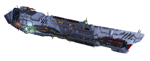 Homeworld's Giant Battlecruiser, Remade With LEGO