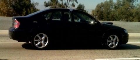 Odd Subaru Legacy GT Spotted