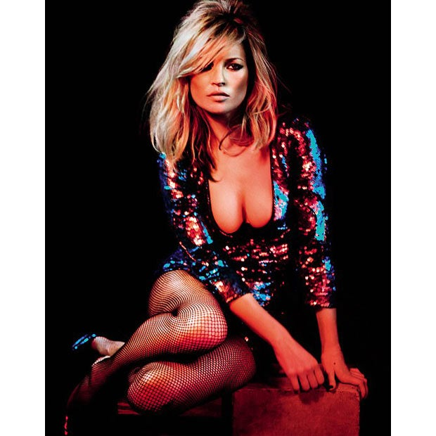Kate Moss Busts Out; Cindy Says She'd Never Make It As A Model Today