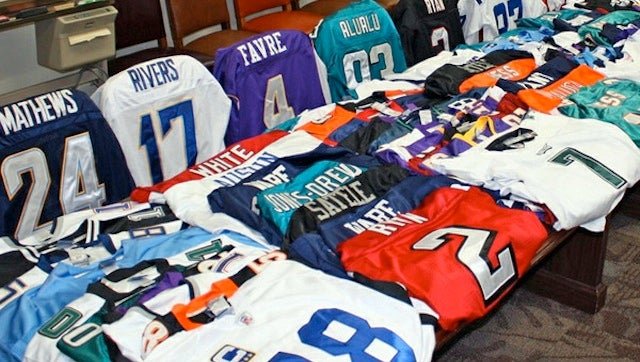 What Happens When You Try To Buy Or Sell Counterfeit NFL Jerseys?