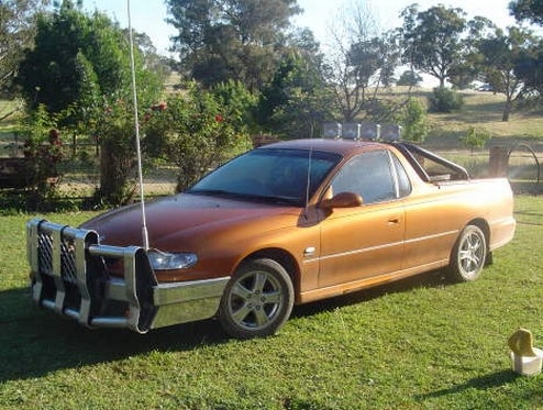 2001 Holden VU S Completely Roo Proof, Possibly Dekotora Inspired