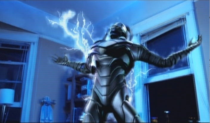 The first photos of the Blue Beetle's live-action transformation