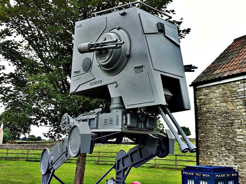 You Can Buy Your Own Giant AT-ST Walker on Ebay for Just $16,000