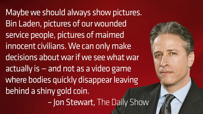 Jon Stewart on the Photos of Osama bin Laden
