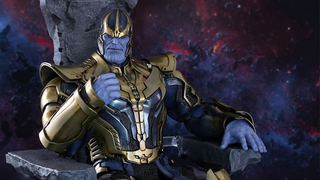 Yes, Hot Toys' Thanos Comes With His Giant Floaty Rock Throne