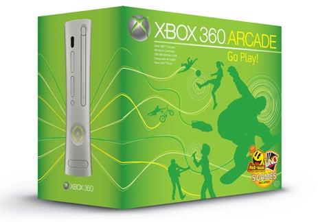 New Xbox 360 Arcades Sport 256MB Internal Storage