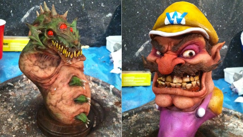Nintendo's Worst Bad Guys Look Awesomely Disgusting in These Busts