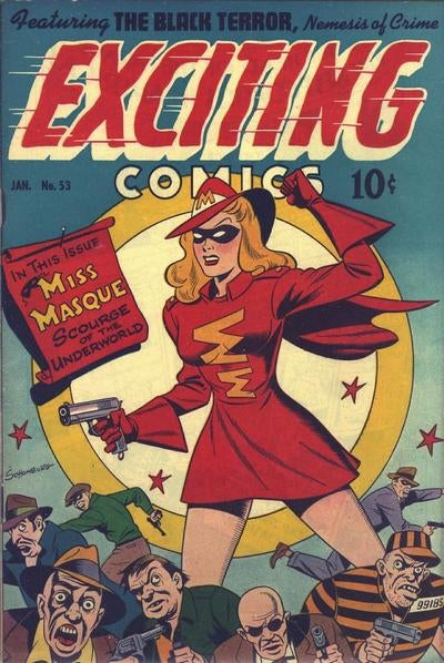 Thor isn't the only public domain superhero