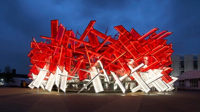 This Crazy Olympic Building Can Be Played Like a Musical Instrument
