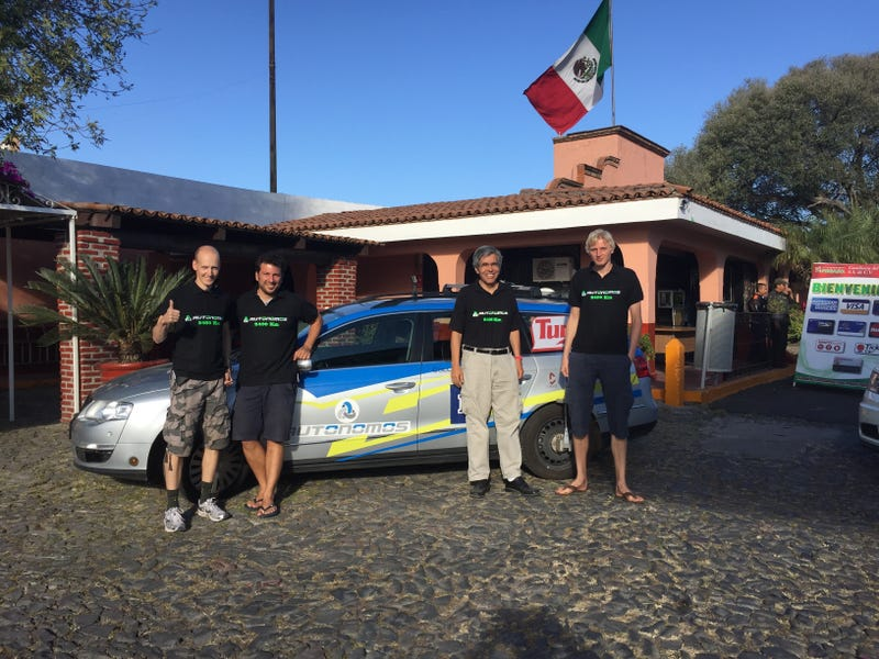 This Self-Driving Car Just Completed a 1,500-Mile Journey Through Mexico