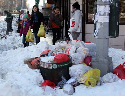 Uncollected Garbage Saves Suicidal Man