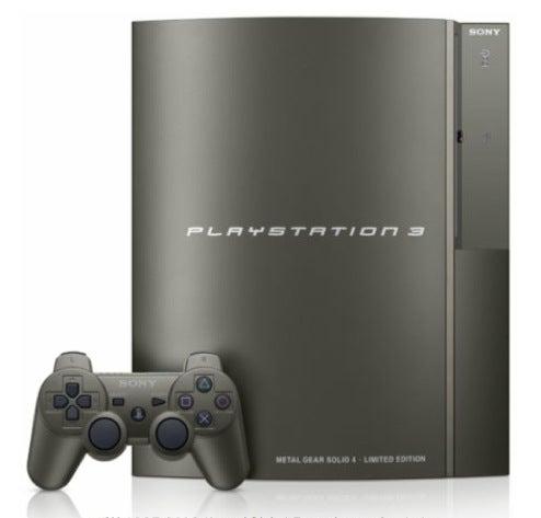 Badass Steel Metal Gear Solid 4 PS3 Is US Bound (!)