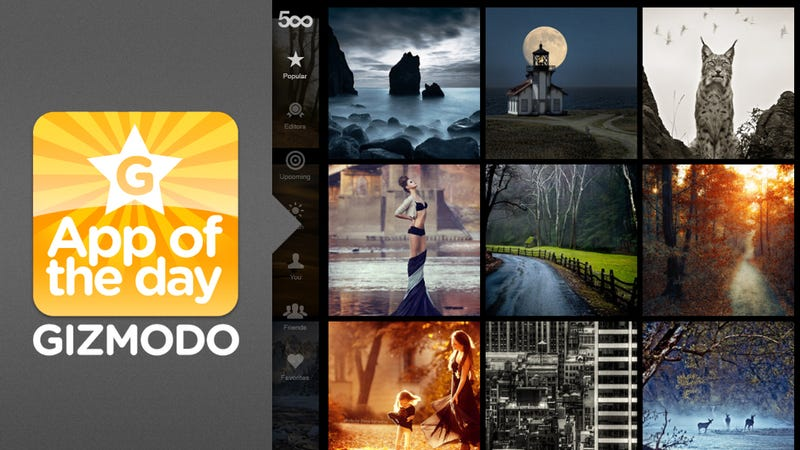 500px for iPad: Look at the Most Beautifullest Pictures on Your iPad