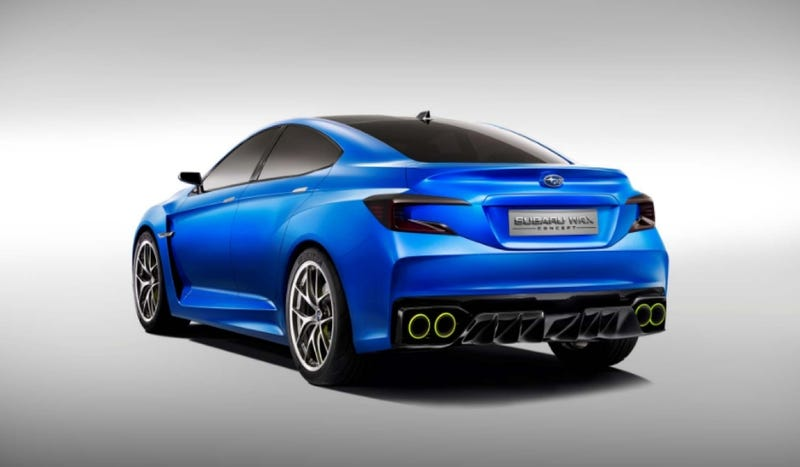 The Subaru WRX Concept Is A Rally Fighter For The Common Man