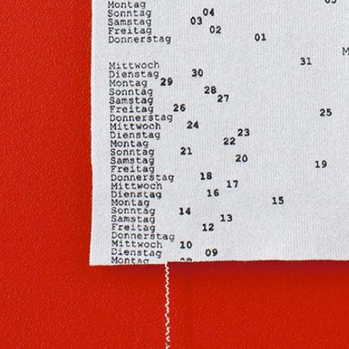 An Entire Year Calendar on a Single Thread