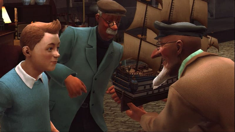 The Adventures of Tintin and the Poor to Passable Review Scores