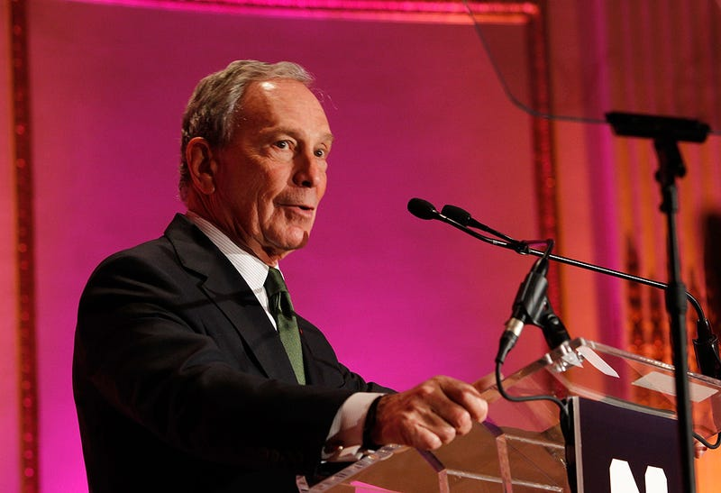 Mayor Bloomberg Made Some Really Lame Gay Jokes at a Fancy Gay Party