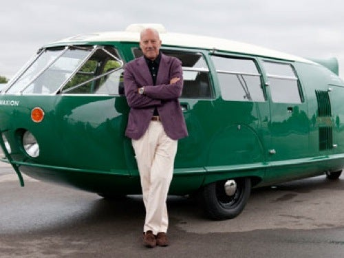 British Architect Builds Himself a Dymaxion Car