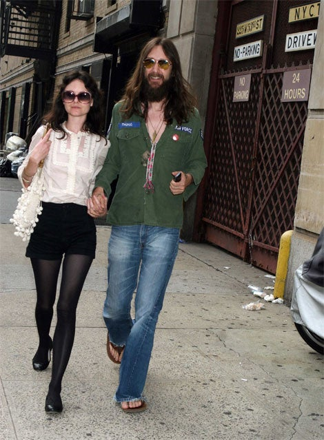 Clearly, Chris Robinson Has Moved On From Kate Hudson