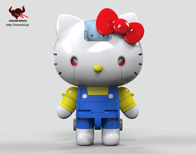Hello Kitty in Super Robot Form