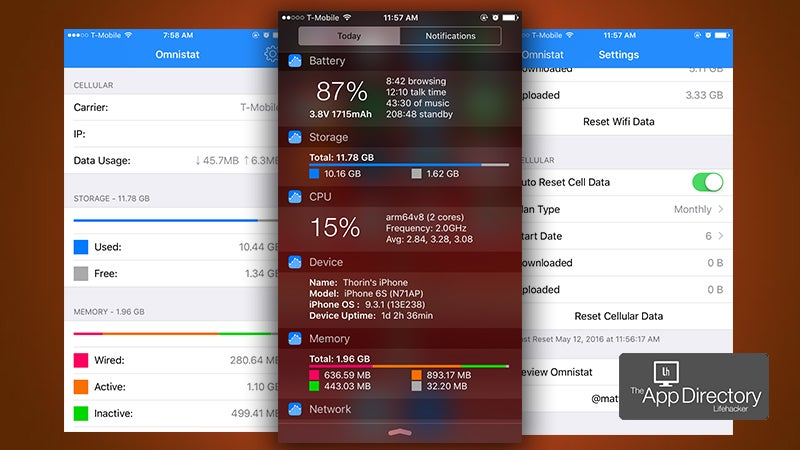 The Best System Monitor for iPhone
