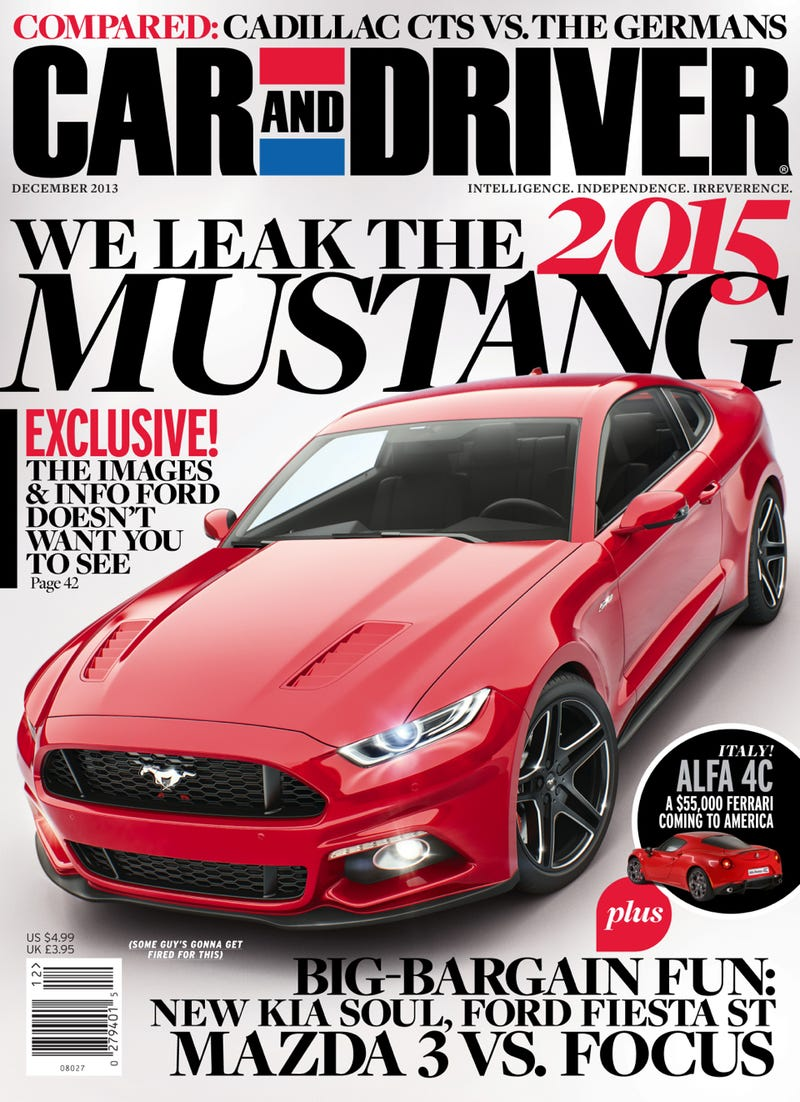 Five Things You Didn't Know About the 2015 Ford Mustang