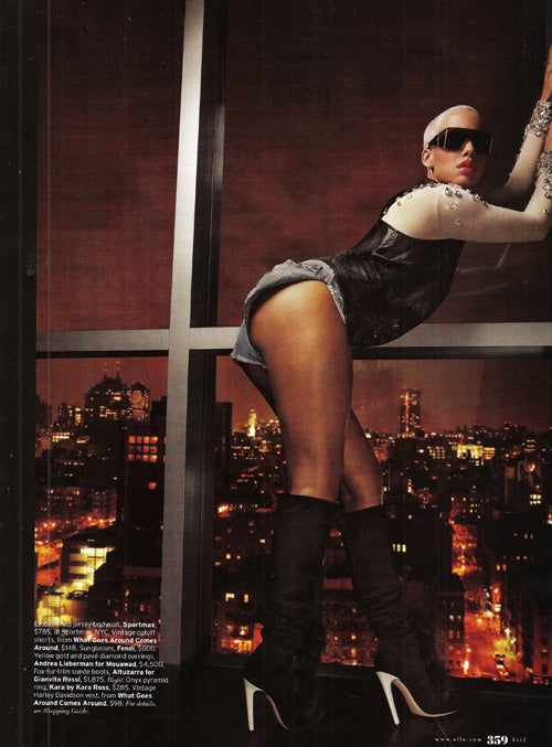 Elle's Photoshoot With Amber Rose: Asinine, Ass-Centric
