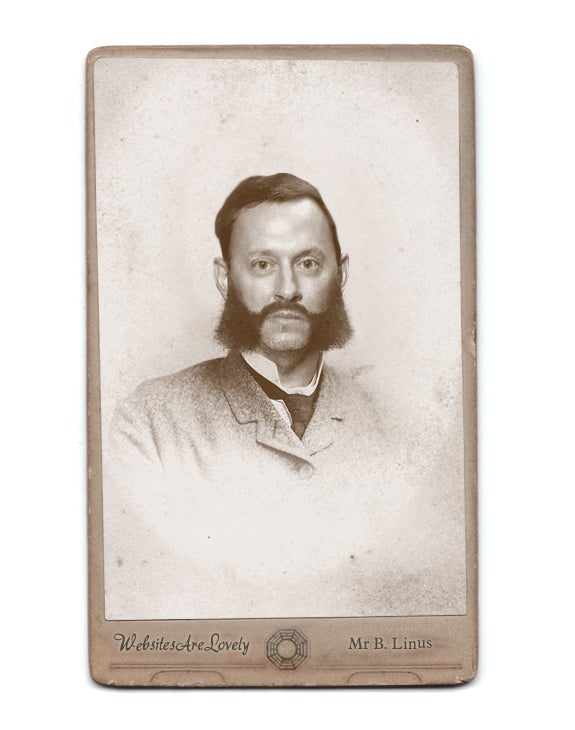 Victorian Lost imagines a mutton-chopped Ben Linus