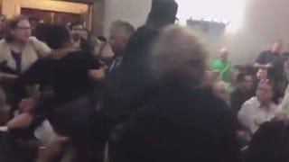 St. Louis Police Spokesman Assaults a Black Woman at Public Meeting