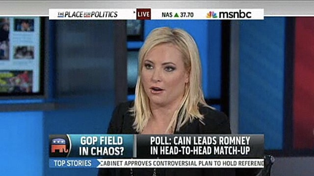'Lean Stupid': MSNBC Hires Meghan McCain