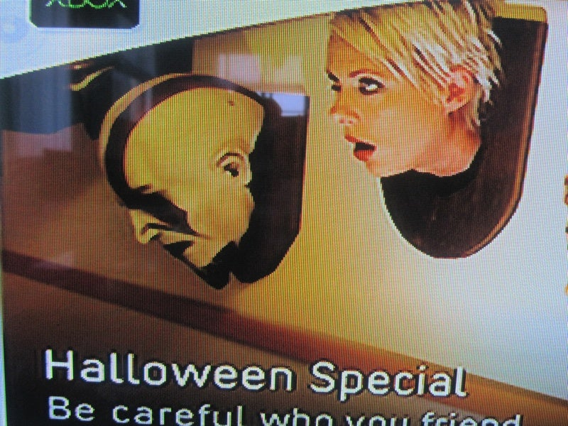 Xbox LIVE Features Kratos Head, It Seems