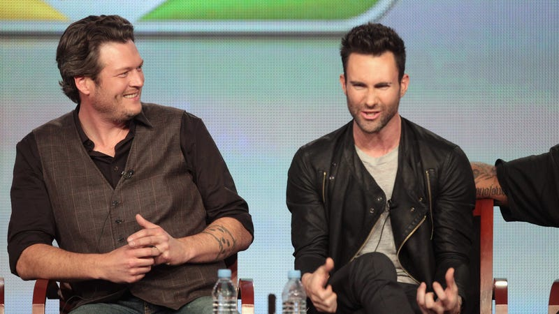 Adam Levine Vows to Humiliate and Destroy Blake Shelton in a Gentlemen's Duel