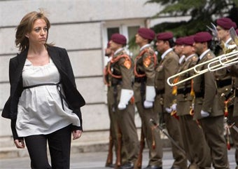 Spain's First Female Defense Minister Is 7 Months Preggers & Causing Controversy