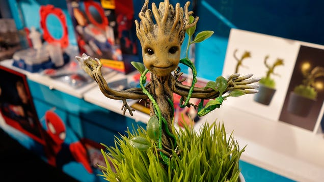 Aww, A Softly Glowing Baby Groot Is the Most Adorable Nightlight
