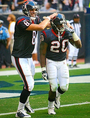 Matt Schaub And The Texans Had A Moment Yesterday