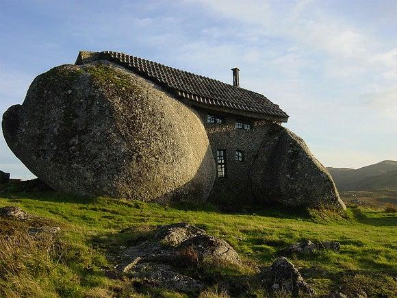 This Flintstones' Home Rocks
