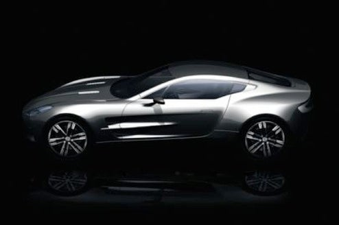 First Image Of The New Flagship Aston Martin One-77 Released