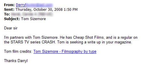 Lazy Tom Sizemore to Magazines: Cover Me, I Guess