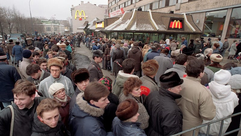 These photographs capture the terror, joy and weirdness of the USSR's final days