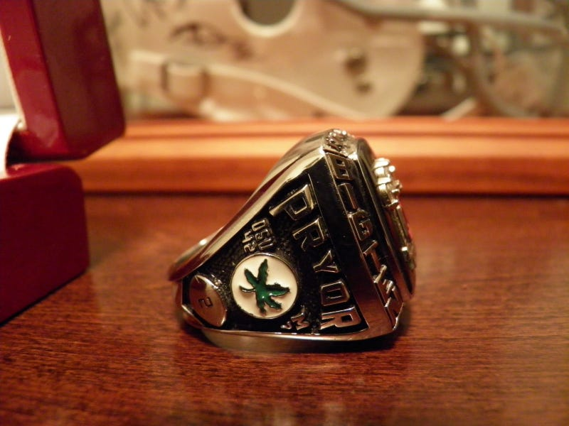 Who Wants To Buy Terrelle Pryor's Big Ten Championship Ring?