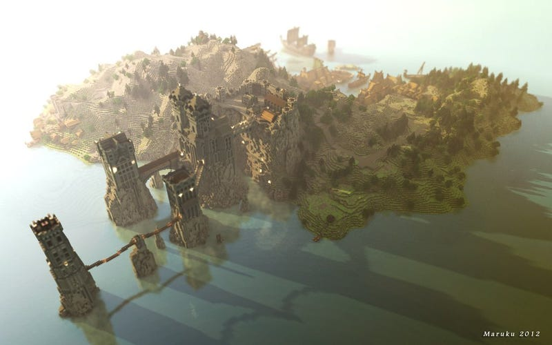 You Must See These Stunning Photos Of Game of Thrones Set In Minecraft