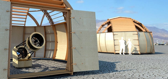 Burning Man Will Be Even Trippier With This Newtonian Observatory