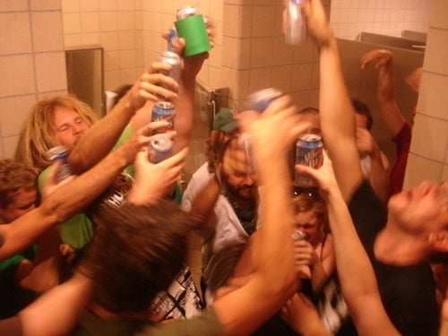 Should Hippie College Bathrooms Be a Super Sexy Party?