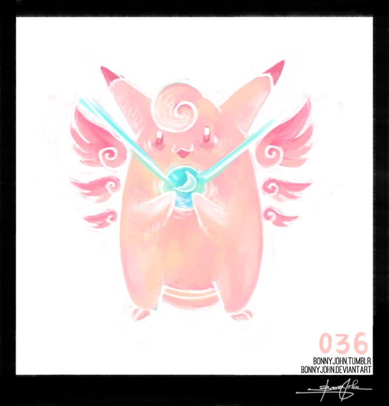 Clefable! Pokemon One a Day!