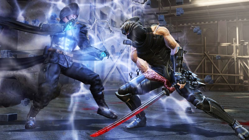 These Ninja Gaiden III Screens Were Probably Really Pretty Before Someone Poured Blood All Over Them