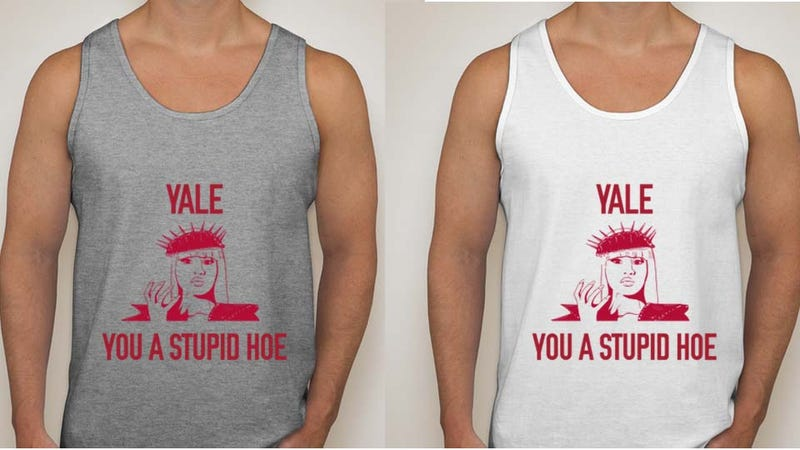 Harvard State Sells 'Yale You a Stupid Hoe' Tank Tops