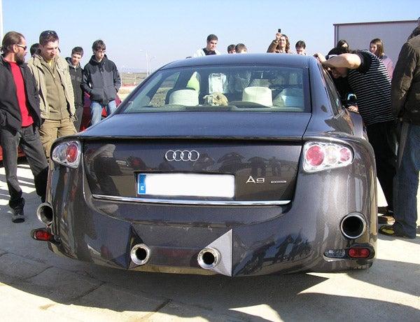 Audi A9 Caught Undisguised? Um, No.